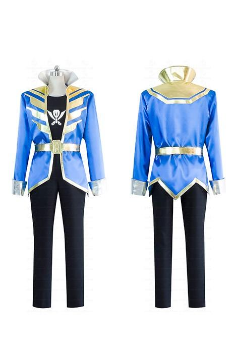 Anime Costumes Kaizoku Sentai Gokaiger Homme Femme