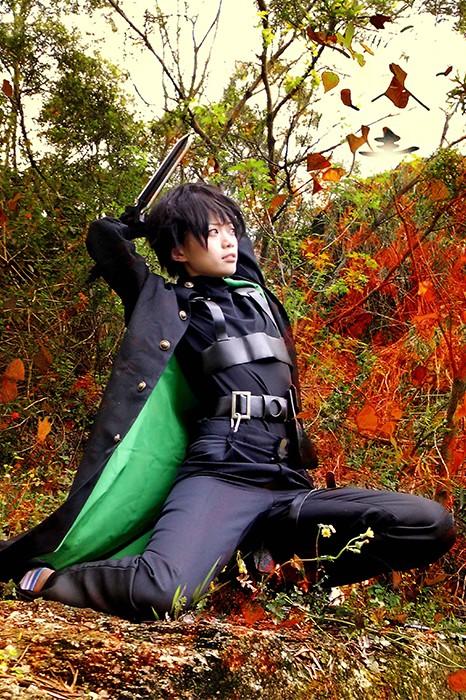 Anime Costumes Darker than Black Homme Femme