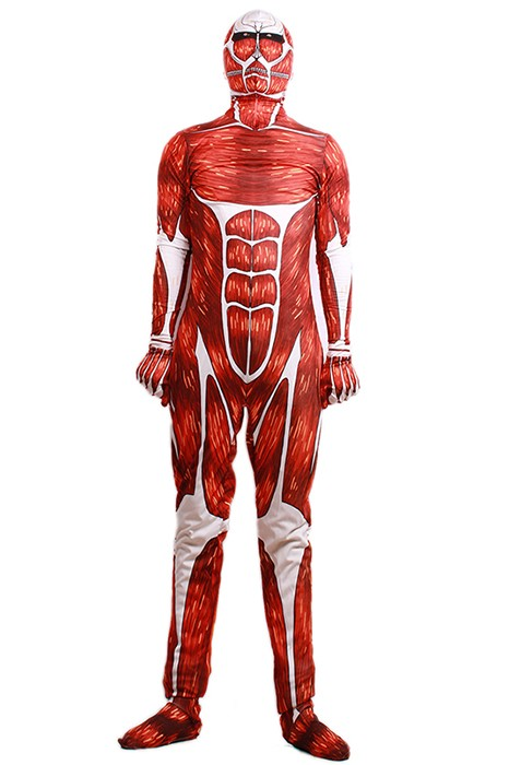 Anime Costumes Attack On Titan Homme Femme