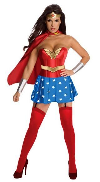 Costumes de film SuperGirl Homme Femme